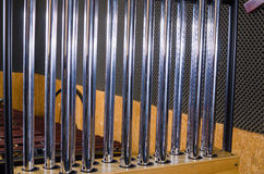 Tubular bells Stock Photography