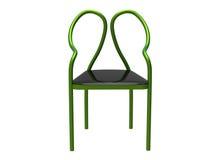 Tubular Chair. Modern tubular chair isolated on a white background Royalty Free Stock Photos
