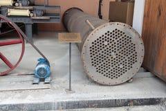 Tubular heat exchanger Stock Photo