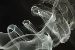 Tubular Smoke Royalty Free Stock Image