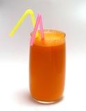 tubule сока моркови Стоковые Изображения RF