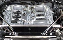 Tubulure d'admission d'une engine de haute performance Photos stock