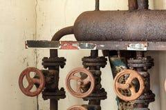 Tubulure de distribution de vapeur Images stock