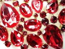 Tuby κόσμημα διαμαντιών κρυστάλλων πολύτιμων λίθων Στοκ Φωτογραφίες