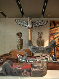 Tubylcza sztuka, Vancouver, Kanada Fotografia Royalty Free