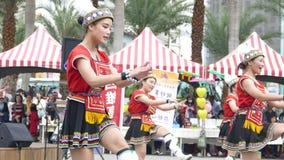 Tubylczy tanów występy w Hualien kultury parku, Hualien, Obraz Stock