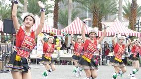 Tubylczy tanów występy w Hualien kultury parku, Hualien, Zdjęcia Stock