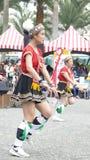 Tubylczy tanów występy w Hualien kultury parku, Hualien, Fotografia Royalty Free