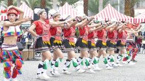 Tubylczy tanów występy w Hualien kultury parku, Hualien, Zdjęcie Stock