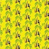 Tucán debajo de una palmera Imagen de archivo libre de regalías