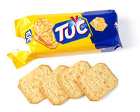 Tuc Original Snack Crackers Royalty Free Stock Photography