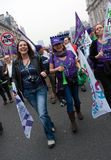 TUC Rally Royalty Free Stock Image