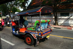 Tuc Tuc in Bangkok Stock Photo