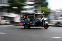 tuc tuc with speed Royalty Free Stock Image