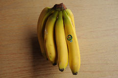 TUCAN厄瓜多尔香蕉果子 库存图片