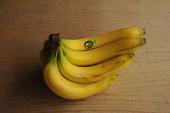 TUCAN EKWADOR banana owoc Fotografia Royalty Free
