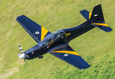 Tucano training aircraft Stock Photography