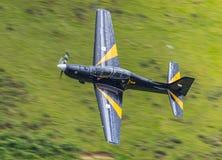 Tucano utbildningsflygplan Arkivfoton