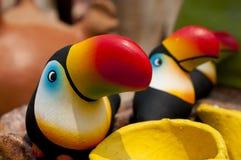 Tucanos cerâmicos de Lenca Imagens de Stock