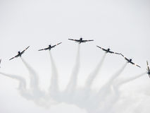 Tucanos Flugzeuge Stockfotos