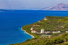 Tucepi coastal view Stock Image
