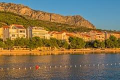 Tucepi Croatia shore Stock Photo