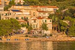 Tucepi Croatia shore Stock Image