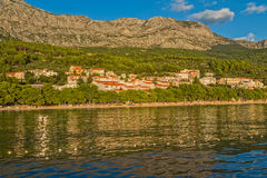 Tucepi houses view Royalty Free Stock Image