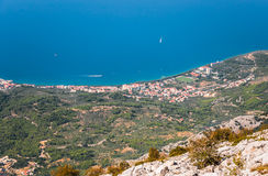 Tucepi i Kroatien Royaltyfria Foton