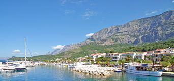 Tucepi, Makarska Riviera, Dalmatien, Kroatien Stockfotos