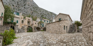 Tucepi old village Royalty Free Stock Photography