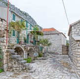Tucepi old village Stock Photography