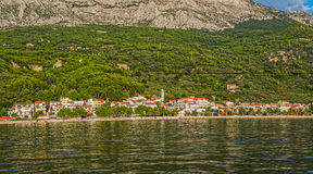Tucepi sea view Stock Image
