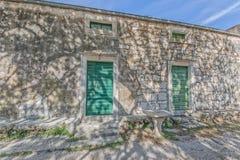 Tucepi stone house Royalty Free Stock Photo