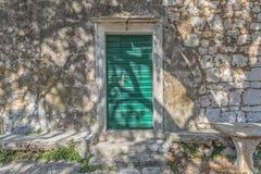 Tucepi village house door Royalty Free Stock Photos