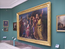 Tuch-Hall-Kunst-Galerie - Krakau - Polen Lizenzfreies Stockbild