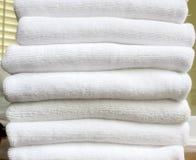 Tuch, weiße Überlagerung Lizenzfreie Stockbilder