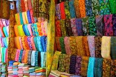 Tuchsystem in Bali Stockfoto