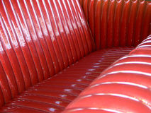 Tuck and roll upholstery Stock Images