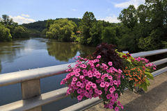 Tuckasegee River in North Carolina Royalty Free Stock Image