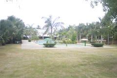 A tucked отсутствующий небольшой курорт в городе Teledo в провинции Cebu Филиппин стоковое изображение
