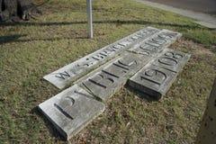 Bruce Elementary School Public School, Memphis, TN royalty free stock images