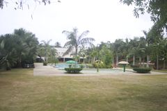 A tucked away Small resort in Teledo City in the province of Cebu Phillipines. A small quiet resort in Teledo City,  Cebu province in the Philippines. This named stock photos