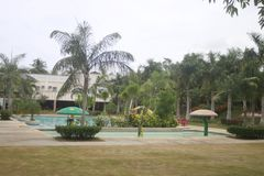 A tucked away Small resort in Teledo City in the province of Cebu Phillipines. A small quiet resort in Teledo City,  Cebu province in the Philippines. This named stock photography