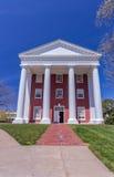 Tucker Hall przy Waszyngtońskim i Zawietrznym uniwersytetem Fotografia Stock