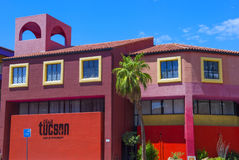 Tucson Adobe hus Royaltyfri Bild