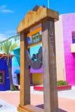 Tucson Adobe hus Arkivbild