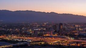 Tucson, Arizona, horizonte de los E.E.U.U. almacen de video