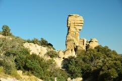 Tucson AZ Mt Lemmon vaggar bildande fotografering för bildbyråer