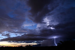 Tucson błyskawica Zdjęcia Stock
